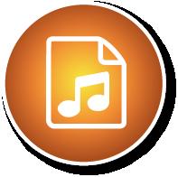 Bouton audio