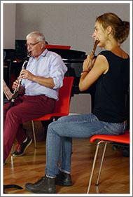 flute clarinett grd medaill