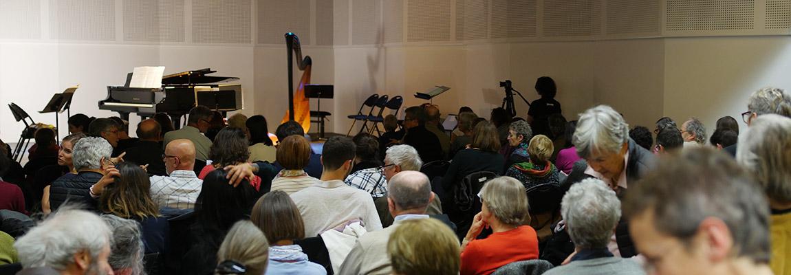 Un public nombreux en octobre à Aix